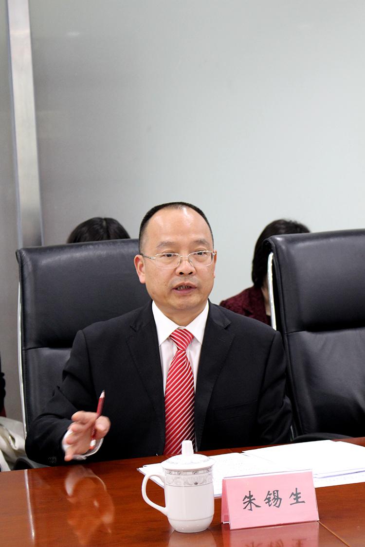 5 中国儿童少年基金会秘书长朱锡生在会上做了工作报告.JPG