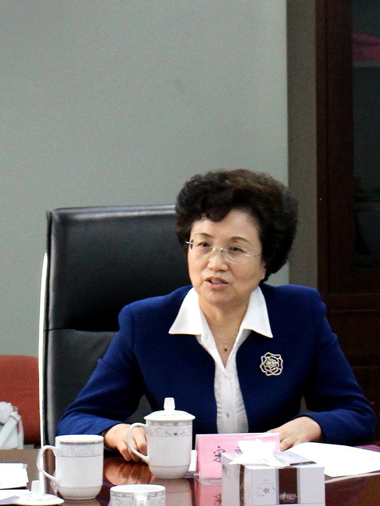 1 全国妇联党组书记、副主席、书记处第一书记,中国儿童少年基金会理事长宋秀岩出席会议并讲话.JPG