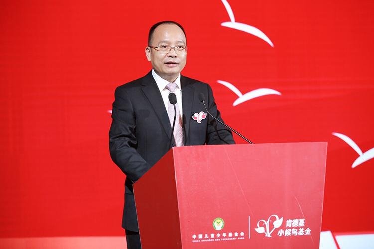 2.中国儿童少年基金会秘书长朱锡生讲话.jpg