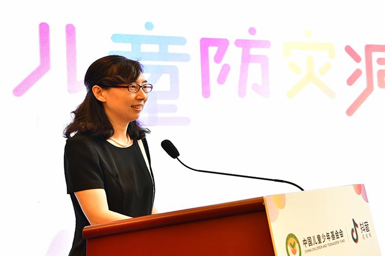 中国儿童少年基金会副秘书长许旭主持活动.jpg