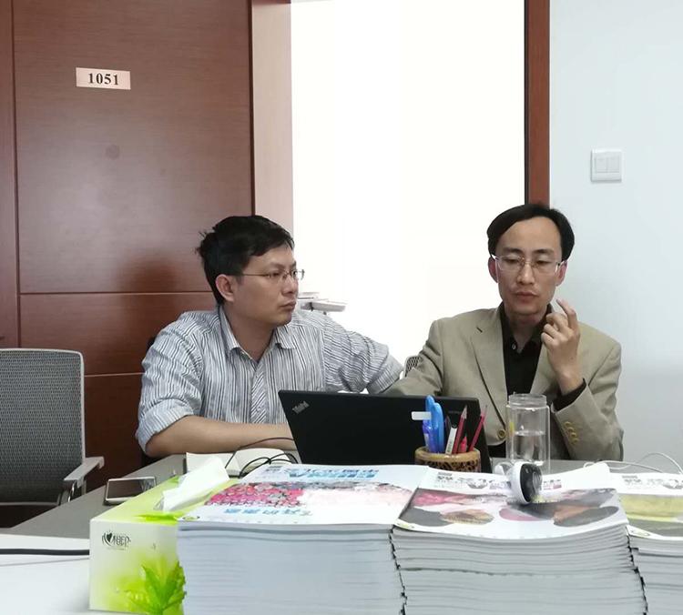 项目筹资部负责同志徐晓光分享交流工作经验.jpg